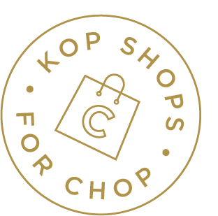 KOP Shops for CHOP logo