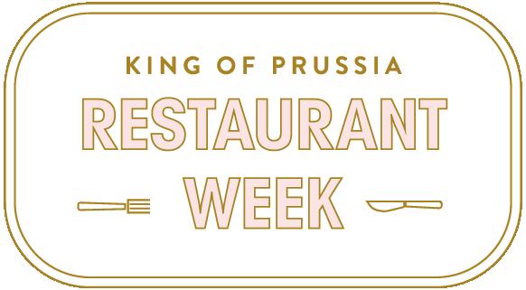 King of Prussia Restaurant Week logo