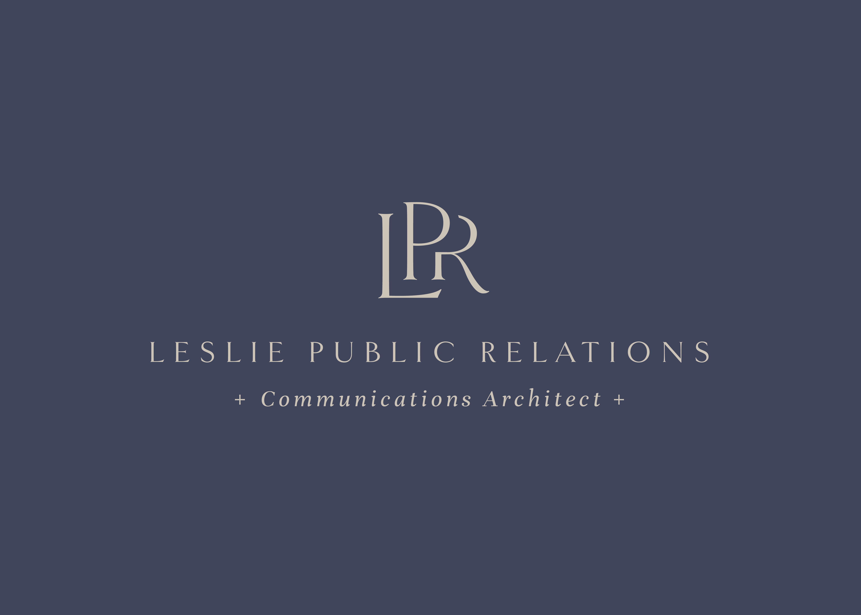 Leslie Public Relations logo