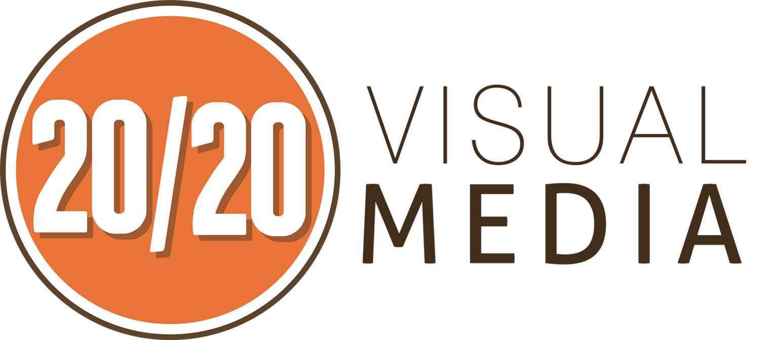 20/20 Visual Media Logo