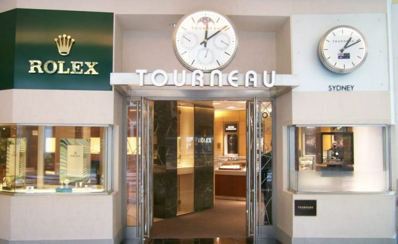 Tourneau watch retailer